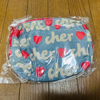 シェル(Cher)の新品 cher ポーチ(ポーチ)