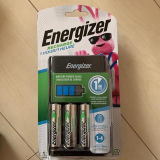 エナジャイザー(Energizer)のエナジャイザー 充電器 新品未開封(バッテリー/充電器)
