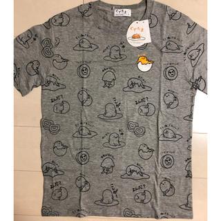 グデタマ(ぐでたま)の【新品・未使用】ぐでたま メンズ グレー Tシャツ(L)(Tシャツ/カットソー(半袖/袖なし))