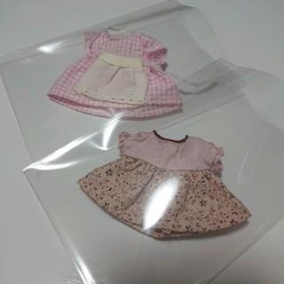 エポック(EPOCH)のシルバニアファミリー 洋服 おばあさん お母さん グレーウサギ まとめ ジャンク(ぬいぐるみ/人形)