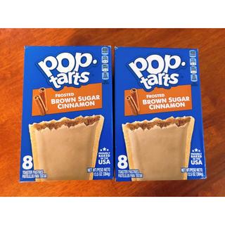 Kellogg's Pop tarts ブラウンシュガーシナモン 16枚(菓子/デザート)