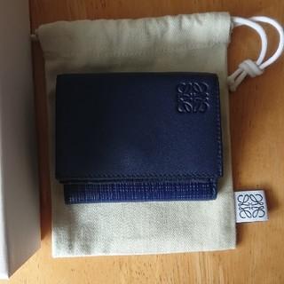 ロエベ(LOEWE)の今期 美品 ロエベ  ミニ 財布(財布)