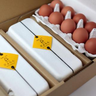 平飼い農家の平飼い卵10個入×3パックセット(その他)