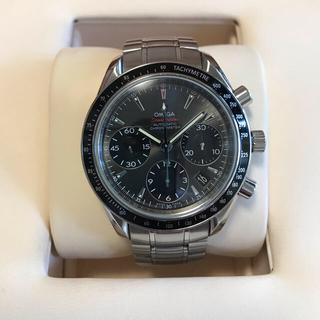 オメガ(OMEGA)の美品 OMEGA  オメガ スピードマスターデイト グレー文字盤 付属品完備(腕時計(アナログ))