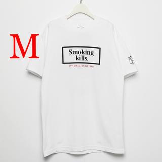 アンチ(ANTI)のASSC×FR2 コラボTシャツ 白M  ANTI(Tシャツ/カットソー(半袖/袖なし))