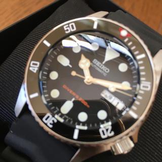 セイコー(SEIKO)のセイコーダイバー  SKX013 ブラックボーイ MOD カスタム(腕時計(アナログ))
