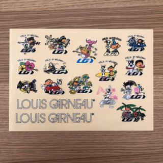 ルイガノ(LOUIS GARNEAU)の新品 未使用 非売品 ルイガノ ステッカー(その他)