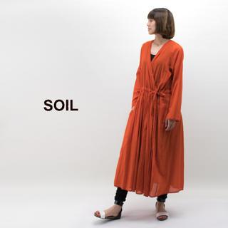 ソイル(SOIL)のSOIL ソイル カシュクールワンピース(ロングワンピース/マキシワンピース)