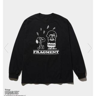 フラグメント(FRAGMENT)のTHE CONVENI PEANUTS LONG SLEEVE fragment(Tシャツ/カットソー(七分/長袖))