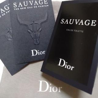 クリスチャンディオール(Christian Dior)の(たんせな様専用です)【65】メンズディオール香水サンプルムエット2枚(ハンカチ/ポケットチーフ)