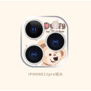 ディズニー(Disney)のダッフィー  iphone11pro  レンズ保護フィルム ディズニー(保護フィルム)