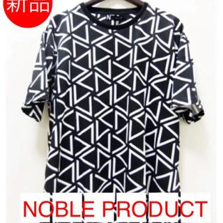 ノーブル(Noble)の新品❤️ 【NOBLE PRODUCT】 ジオメトリック プリント Tシャツ(Tシャツ/カットソー(半袖/袖なし))
