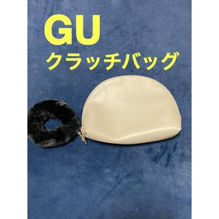 ジーユー(GU)のGU クラッチバッグ ファー付き(クラッチバッグ)