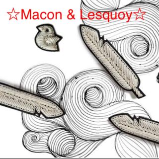 アッシュペーフランス(H.P.FRANCE)の④新品☆Macon Lesquoy☆マコン&レスコア☆フェザーブローチ☆羽根☆(ブローチ/コサージュ)