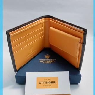 【新品未使用】エッティンガー 二つ折り財布 bh141jr(折り財布)