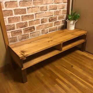 アンティーク シンプルお洒落テーブル メープル(ローテーブル)