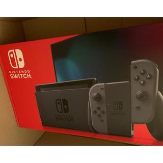 ニンテンドースイッチ(Nintendo Switch)の任天堂スイッチ グレー 本体 新型 Nintendo switch(家庭用ゲーム機本体)