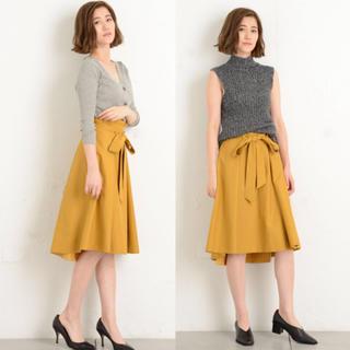 ガリャルダガランテ(GALLARDA GALANTE)の《美品》ガリャルダガランテ♡リボン付きフレアスカート sizeF(ひざ丈スカート)