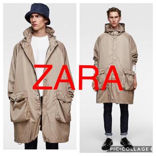ザラ(ZARA)のZARA ロング丈マウンテンパーカー(マウンテンパーカー)