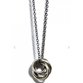 アンドゥムルメステール(Ann Demeulemeester)のNecklace Four Rings(ネックレス)