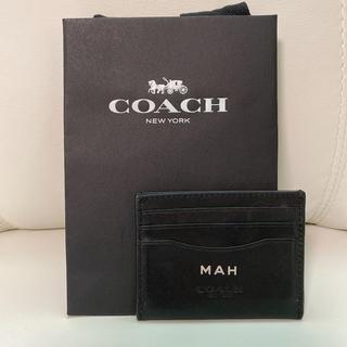 コーチ(COACH)のCOACH メンズ カードケース パスケース(名刺入れ/定期入れ)