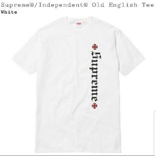シュプリーム(Supreme)のミヤさん専用   Independent Old English Tee(Tシャツ/カットソー(半袖/袖なし))