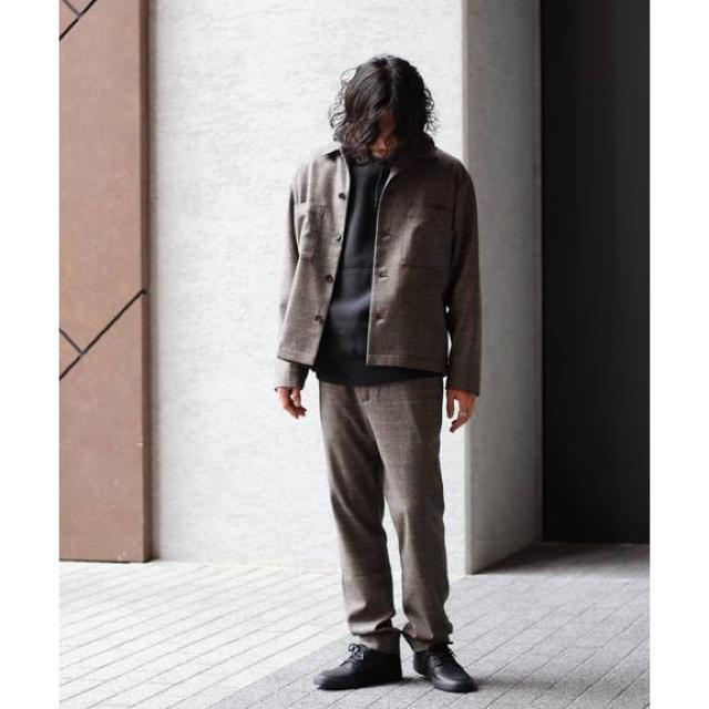 JOURNAL STANDARD(ジャーナルスタンダード)のJOURNAL STANDARD relume カシミアブレンドビッグブルゾン メンズのジャケット/アウター(カバーオール)の商品写真