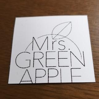 ミセスグリーンアップル ロゴステッカー(しおり/ステッカー)