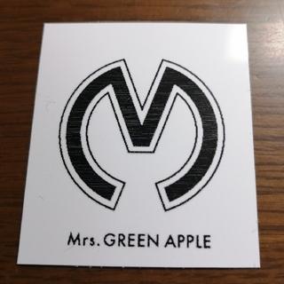 ミセスグリーンアップル ステッカー(しおり/ステッカー)