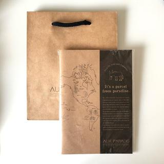 オゥパラディ(AUX PARADIS)のAUX PARADIS notebook + giftbag(ノート/メモ帳/ふせん)