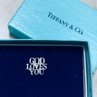 Tiffany & Co. - VINTAGE TIFFANYティファニー GOD LOVES YOUピンバッジ