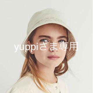 ザラ(ZARA)のザラ  バケツ ハット デニム 新品未使用品(帽子)