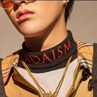 クリスチャンダダ(CHRISTIAN DADA)のchristian dada stand collar T-shirts(Tシャツ/カットソー(半袖/袖なし))