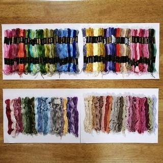 オリンパス(OLYMPUS)の刺繍糸 OLYMPUS★105本105色set  オリムパス 25番 刺しゅう糸(生地/糸)