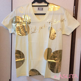 Q-pot. - 非売品 未使用 Q-potキューポット チーズTシャツ サイズM