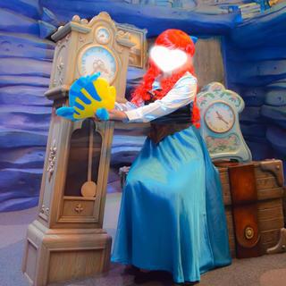 ディズニー(Disney)のアリエル ドレス 衣装 dハロ仮装(衣装一式)