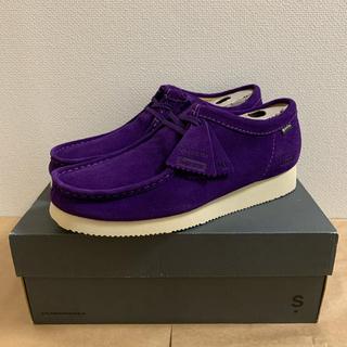 Supreme - 19fw 新品 紫 26.0cm supreme clarks wallabee