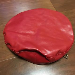 マウジー(moussy)のMOUSSY レザーベレー帽(ハンチング/ベレー帽)