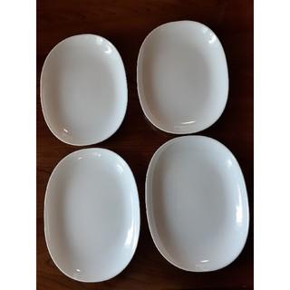 ヤマザキセイパン(山崎製パン)の専用  10枚 ヤマザキ春のパン祭り 白 お皿 楕円 (食器)