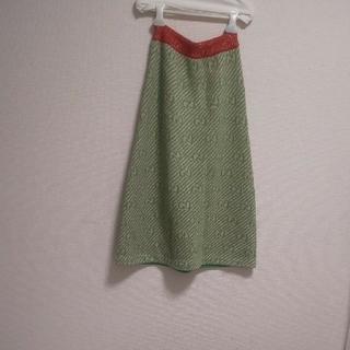 グッチ(Gucci)のGUCCI xs  ラメニットスカート(ロングスカート)