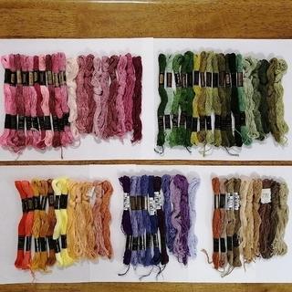 オリンパス(OLYMPUS)の華さん 刺繍糸 OLYMPUS★ 69本 オリムパス 25番 刺しゅう糸(生地/糸)