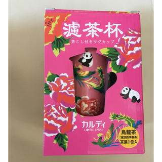 カルディ(KALDI)のカルディ 台湾 マグカップ ピンク(グラス/カップ)