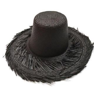 エドウィナホール(Edwina Hoerl)のEdwina Horl straw hat  エドウィナホール ストローハット(ハット)