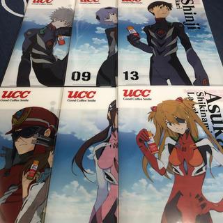 ユーシーシー(UCC)のエヴァ缶 クリアファイル6種 UCC限定(クリアファイル)