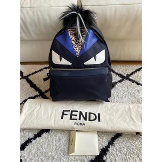 フェンディ(FENDI)の⭐ FENDI フェンディ モンスター リュック バックパック 中品 美品♪♫(バッグパック/リュック)