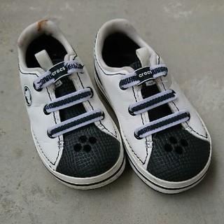 crocs - crocs 17.5cm 水遊び用シューズ c10 クロックス 白 スニーカー