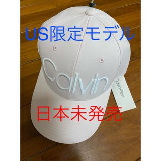 Calvin Klein - 【日本未発売】カルバンクライン キャップ パステルピンク アメリカ限定