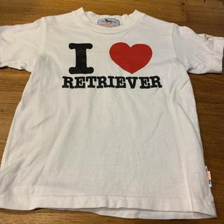 ラブラドールリトリーバー(Labrador Retriever)のラブラドールリトリーバー Tシャツ キッズ(Tシャツ/カットソー)