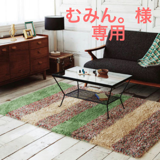ウニコ(unico)の【専用】unico★EDDY ガラステーブル(ローテーブル)
