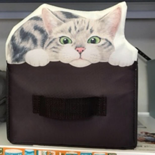 フェリシモ(FELISSIMO)のフェリシモ猫の収納ボックス三点(小物入れ)